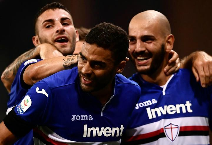 Defrel_Saponara_Sampdoria_Napoli_lapresse_2018