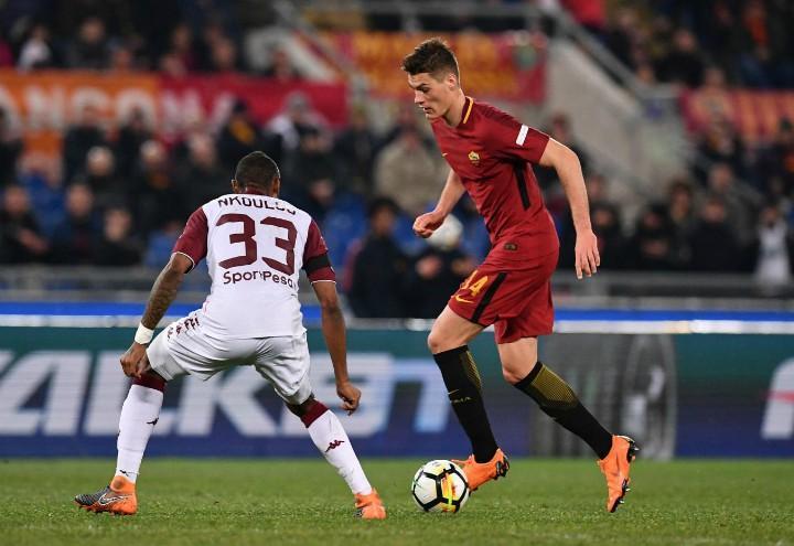 Schick_NKoulou_Roma_Torino_lapresse_2018