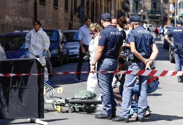 polizia_omicidio_mafia_palermo_lapresse_2017
