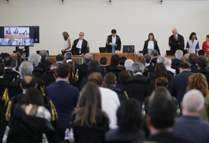 processo_sentenza_mafia_capitale_rebibbia_roma_tribunale_lapresse_2018