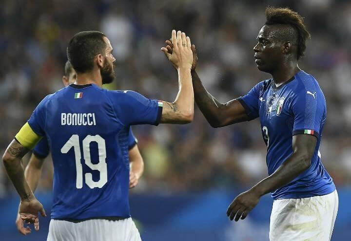 Bonucci_Balotelli_Italia_gol_lapresse_2018