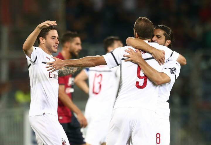 Higuain_Milan_gol_Cagliari_lapresse_2018
