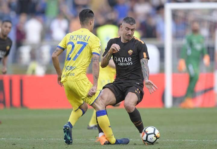Kolarov_Depaoli_Roma_Chievo_lapresse_2018