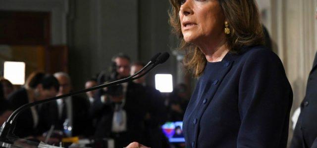 casellati_consultazioni_quirinale_senato_lapresse_2018