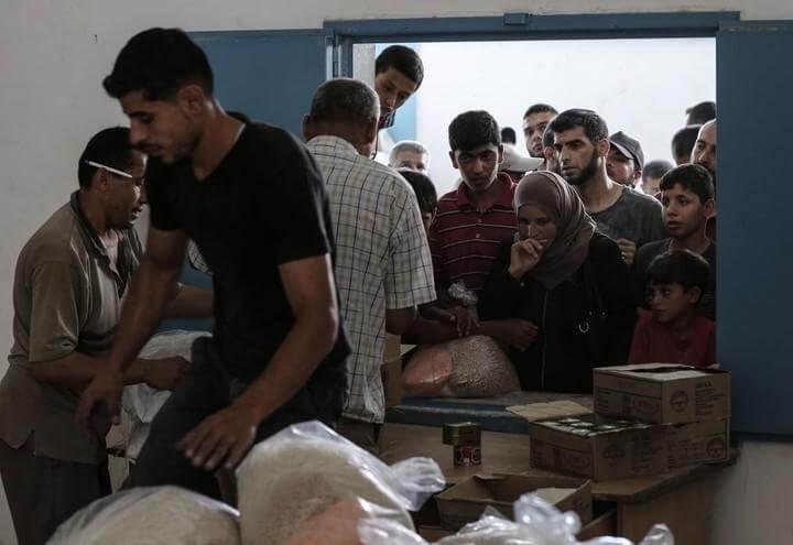 gaza_palestinesi_aiuti_onu_lapresse_2018