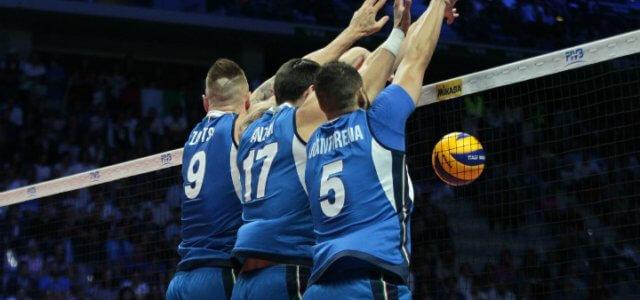 Zaytsev_Anzani_Juantorena_Italia_volley_muro_lapresse_2018
