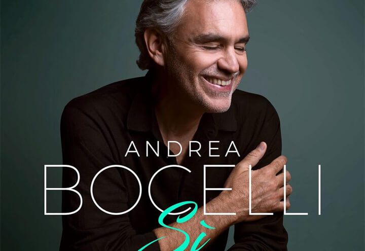 Musica: Bocelli n. 1 in classifica USA album venduti