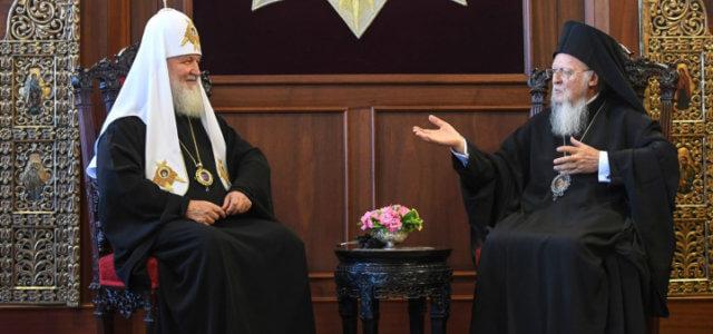 chiesa_ortodossa_patriarca_kirill_bartolomeo_russia_costantinopoli_lapresse_2018