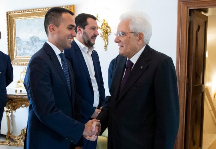 mattarella_salvini_dimaio_governo_quirinale_lapresse_2018