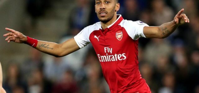 Aubameyang_Arsenal_esultanza_lapresse_2018