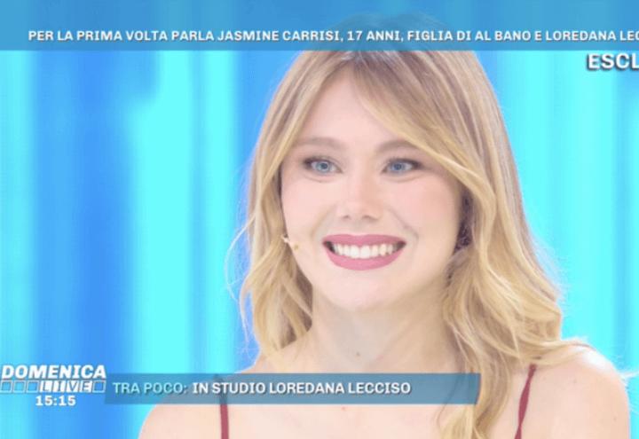 jasmine_carrisi_domenica_live