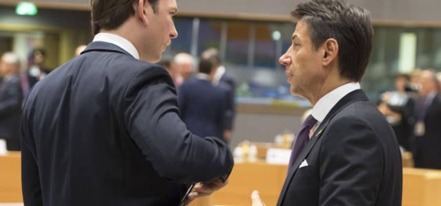 kurz_conte_consiglioeuropeo_lapresse_2018