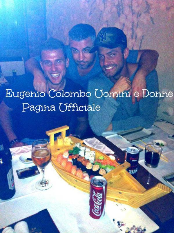 Eugenio Colombo e degli amici