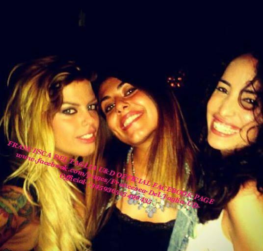 Francesca Del Taglia con delle amiche