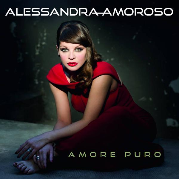 La copertina di Amore Puro di Alessandra Amoroso
