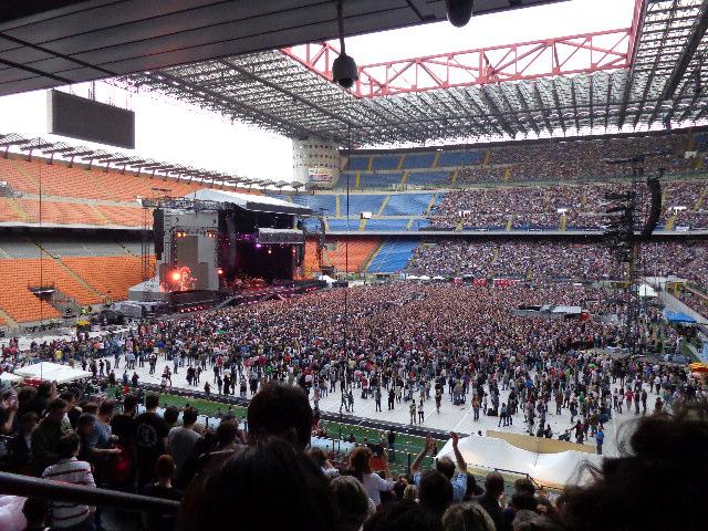 Bruce Springsteen a Milano, Stadio San Siro 3 giugno 2013