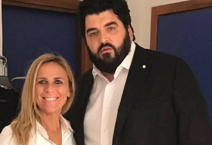 Cinzia Primatesta e Antonino Cannavacciulo