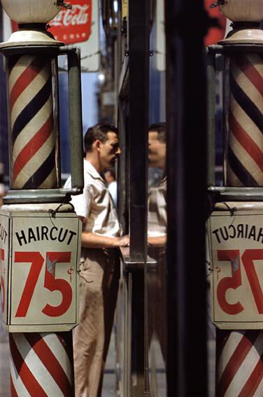 Saul Leiter, Haircut 1956