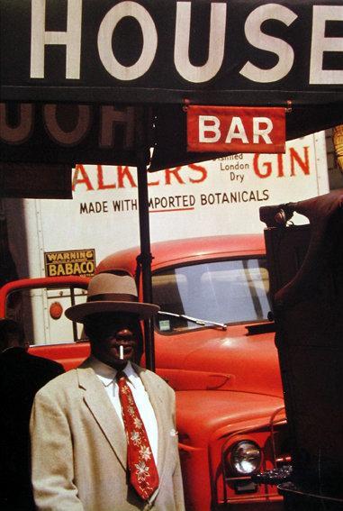 Saul Leiter, Harlem, 1960