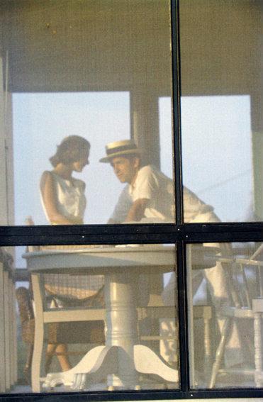 Saul Leiter, Lanesville, Mass. (Robert and Dorothy Weaver), 1956