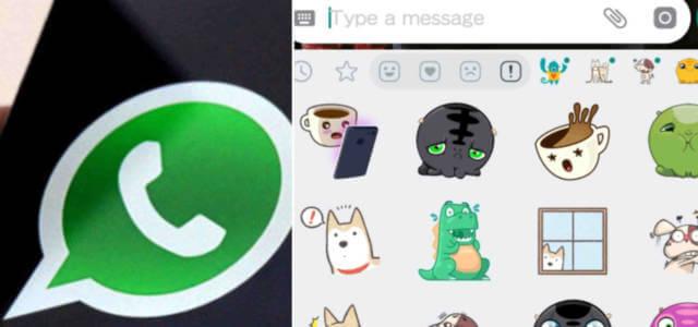 Arrivano gli sticker su WhatsApp