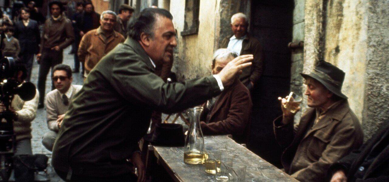 Fellini Federico Set Lapresse