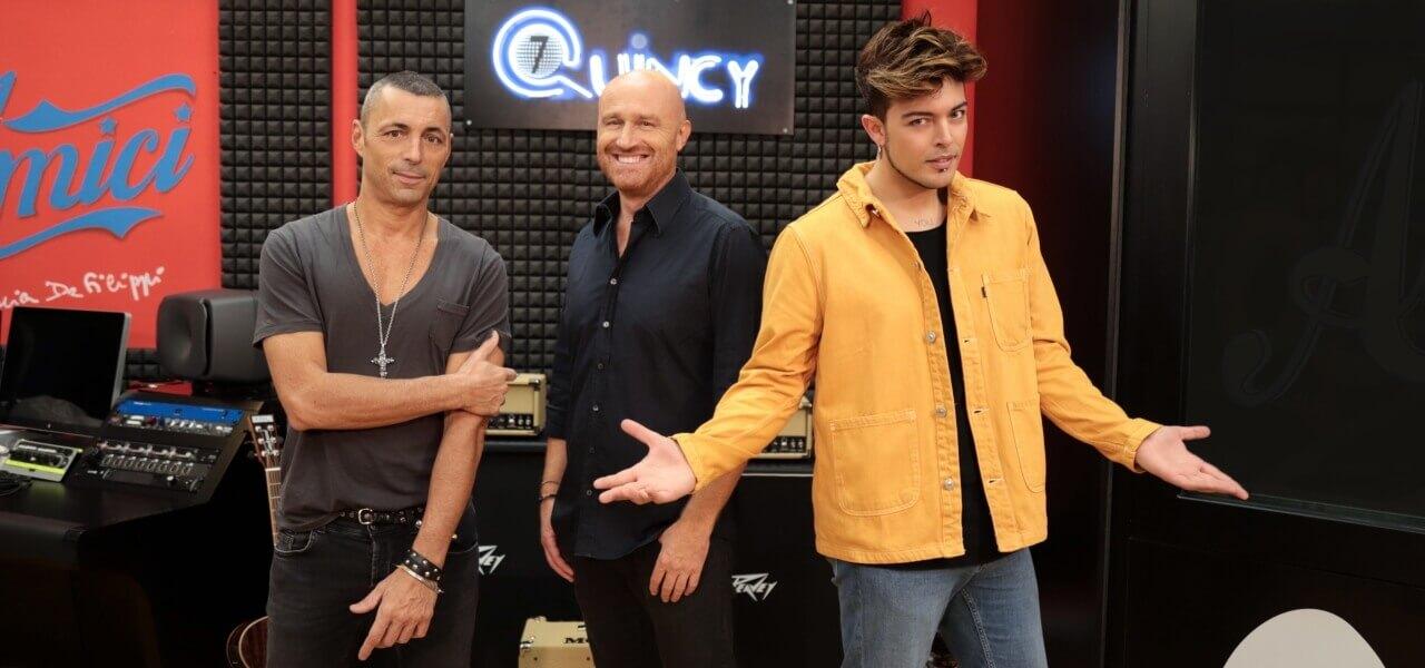 Prof Canto: Rudy Zerbi, Alex Britti e Stash