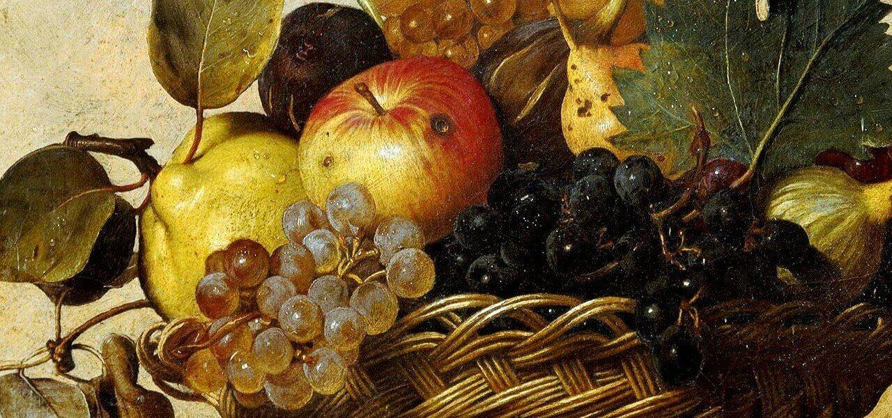 caravaggio canestrafrutta ambrosiana 1598 arte