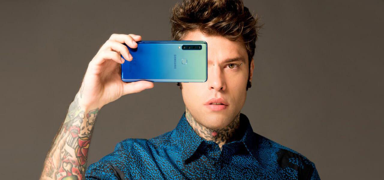 Fedez e la collaborazione con Samsung