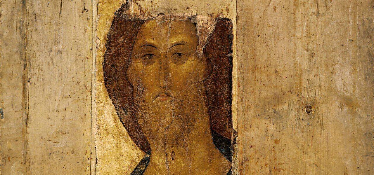 rublev cristo salvatore XIV arte