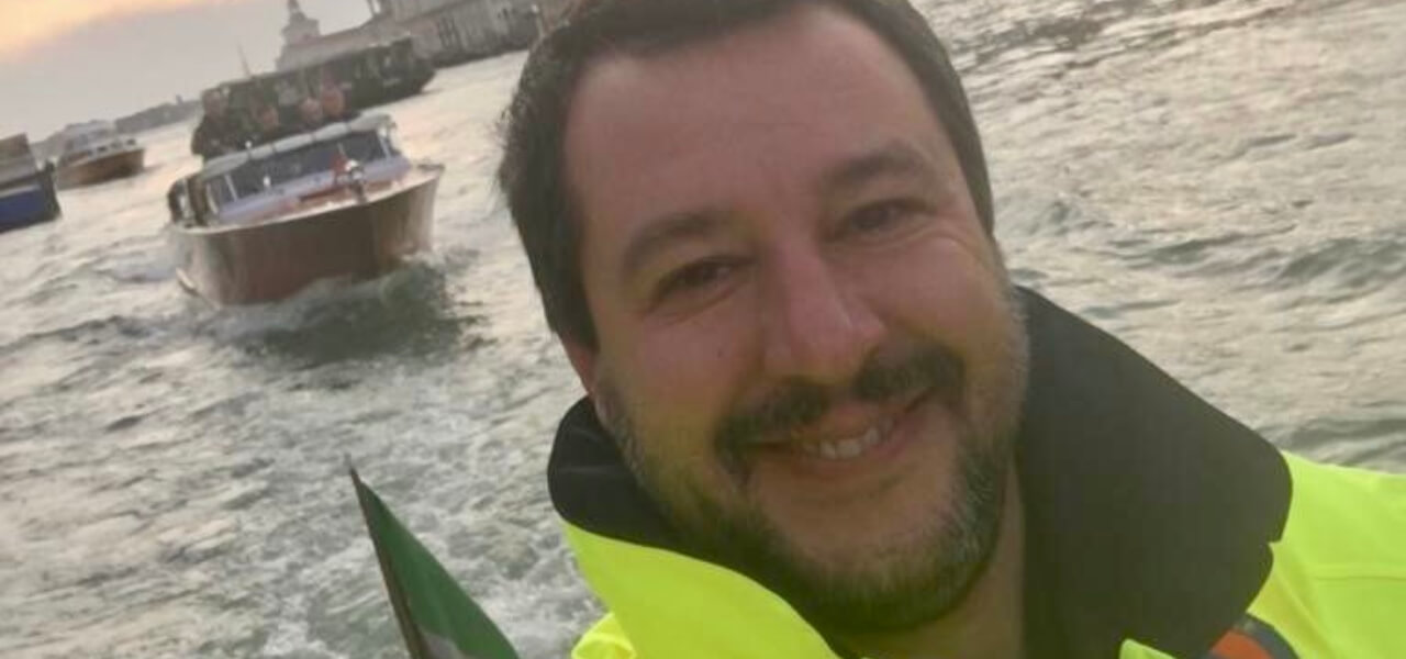 Litigantispunta Roberto I Salvini Tra Salmo Due Contro Matteo tsBhrCoQdx