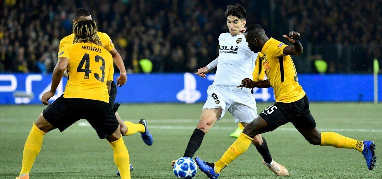Sanogo Soler Young Boys Valencia lapresse 2018