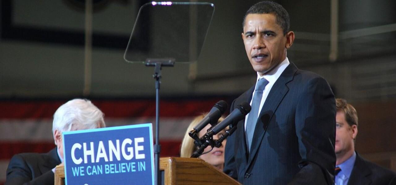 Midterm Usa, Obama a Chicago