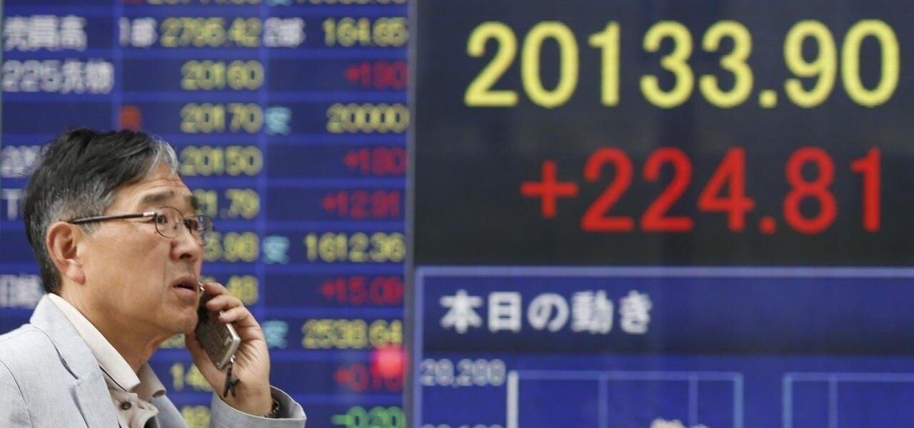 Borsa Giappone Lapresse1280