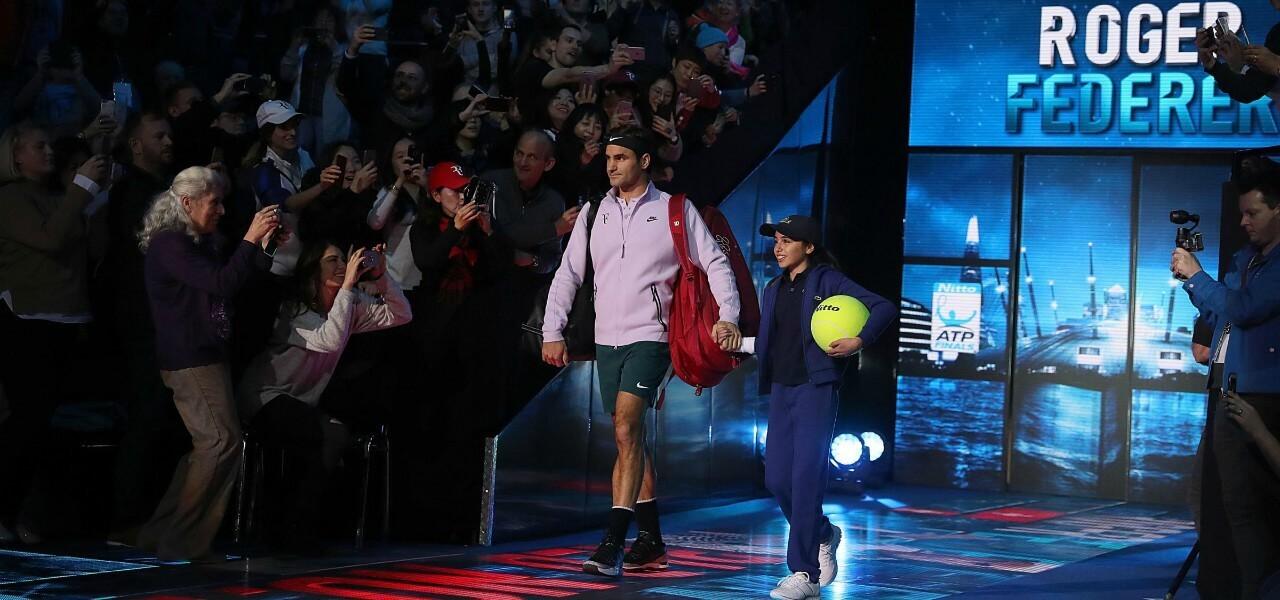 Federer Finals entrata lapresse 2018
