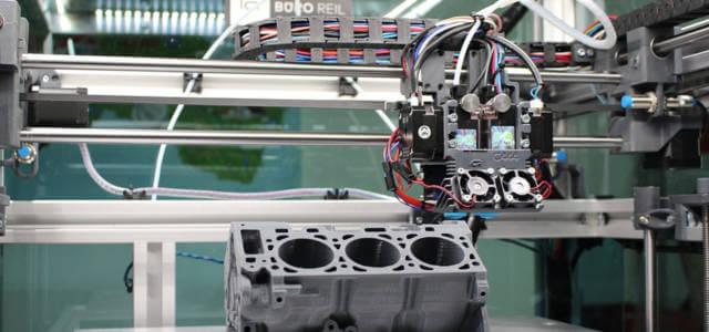 Robot di un'industria