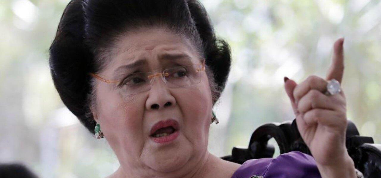 L'ex first lady Imelda Marcos
