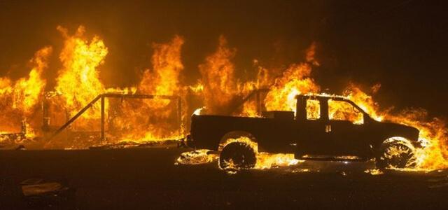 Incendio in California, brucia Malibù