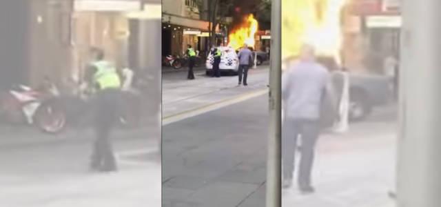 Melbourne, attacco in centro