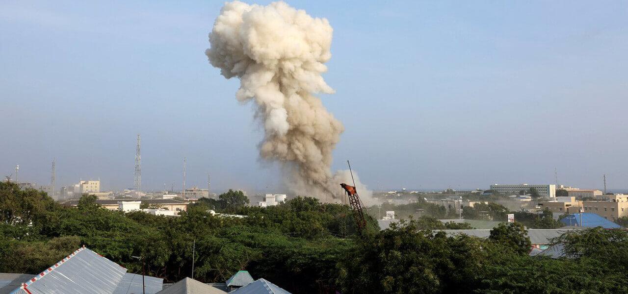 Attacco kamikaze a Mogadiscio