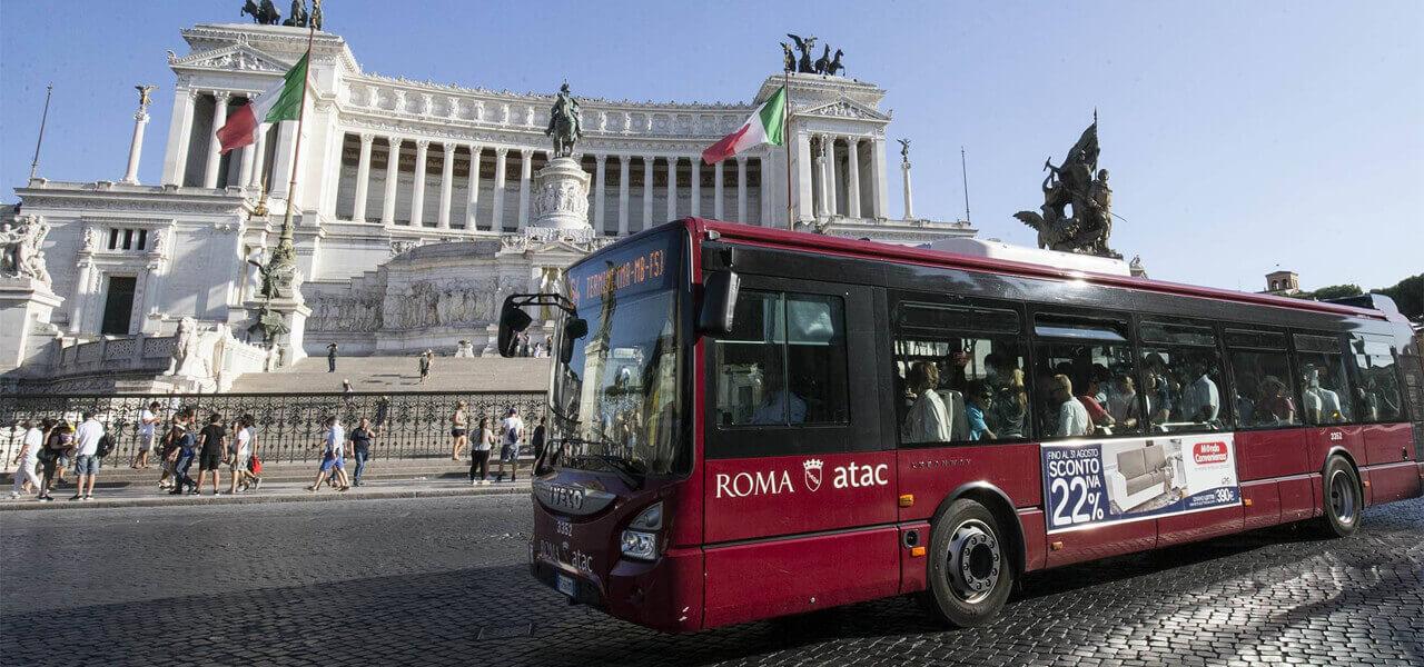 Roma, bus Atac