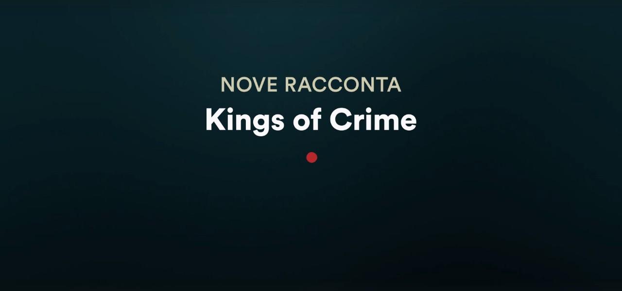 king of crime nove