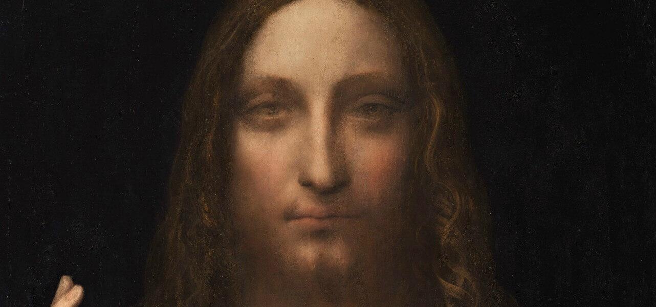 leonardodavinci salvatormundi cristo 1499 arte