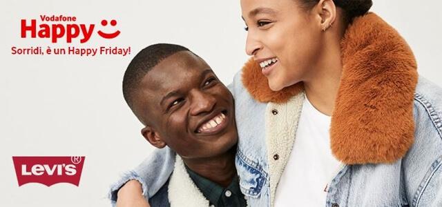 Vodafone Happy Friday, regalo Levi's