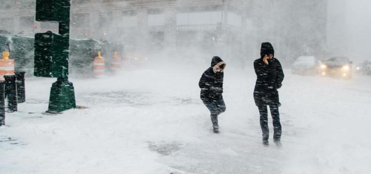 Tempesta di neve (Twitter)