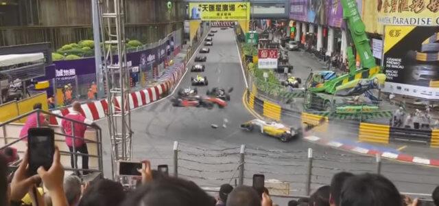 F3, terribile incidente al Gp di Macao