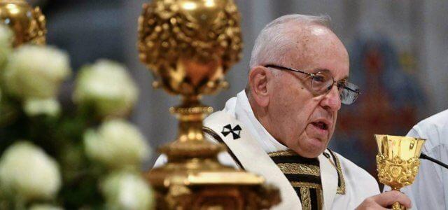 papa francesco messa sanpietro 1 lapresse 2018 640x300