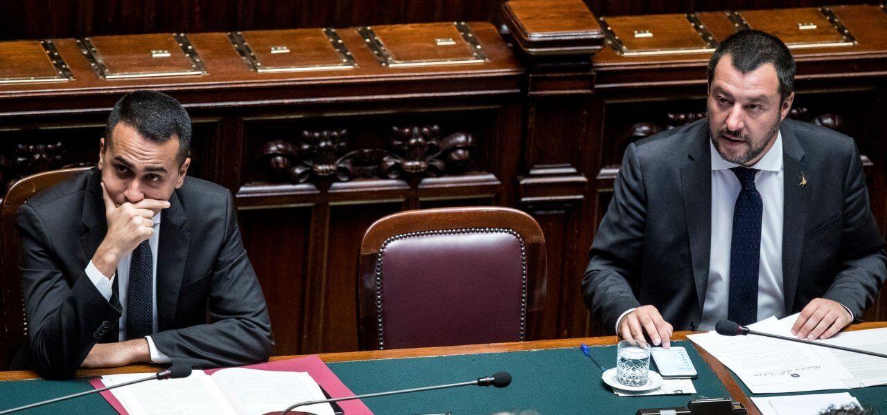 crisi governo, Di Maio e Salvini alla Camera