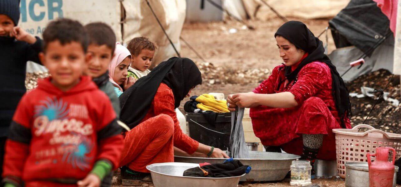siria profughi rifugiati lapresse 2018