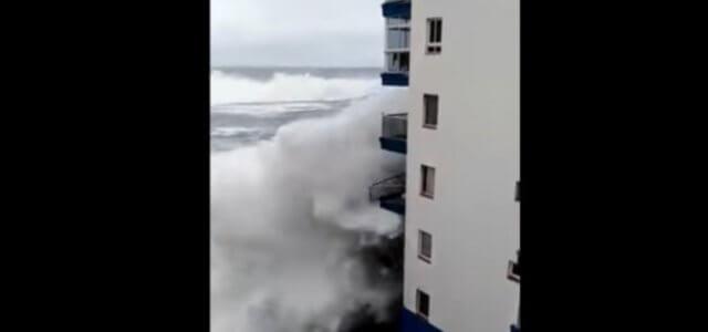 onde giganti Tenerife